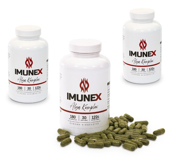 3 db - Zöld alga Imunex alga Komplex