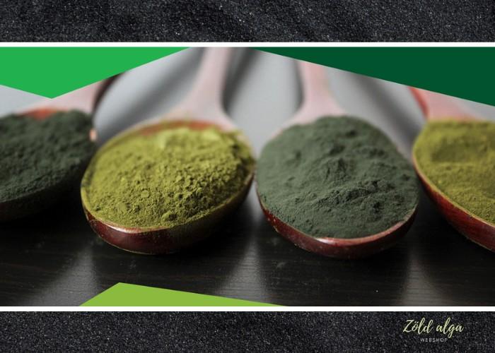 A zöld algákban a omegazsírsavak stimuláljaa fő hormonokat