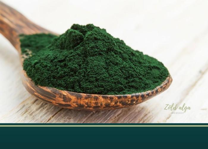 Zöld algák a szív és érrendszer egészségért