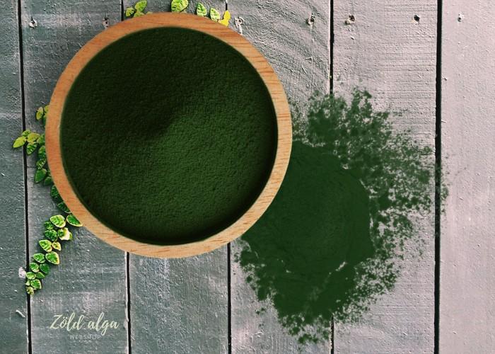 Zöld alga hogyan növeli több szegmensben az immunrendszert